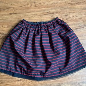 Lands End holiday skirt